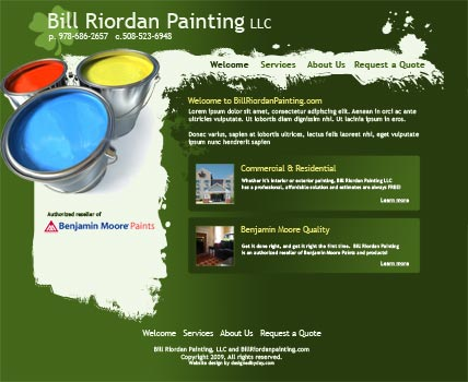 Website Bill Riordan Painting Llc Bill Riordan Painting