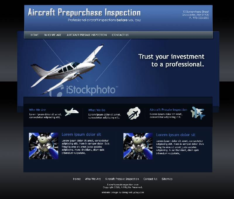 aircraft presale inspection